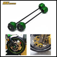 CNC Modified Motorcycle Front and rear wheels drop ball / shock absorber For MV AGUSTA BRUTALE R 1090 2012-2017