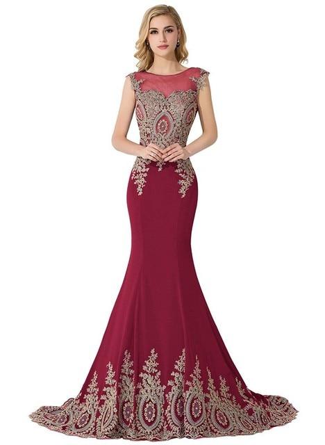 Sexy Sheer Lace Mermaid Long  Prom Dresses under 50 Elegant Royal Blue Evening Party Dresses Vestido de Festa Longo 4