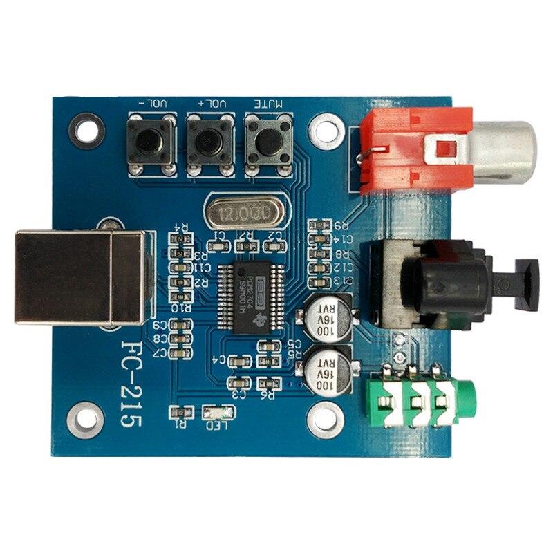 Unterhaltungselektronik Pcm2704 Dac Audio Digital Zu Analog Konverter Usb Auf S/pdif Soundkarte Hifi Decoder Board 3,5mm Analog Koaxial Optische Faser Weitere Rabatte üBerraschungen