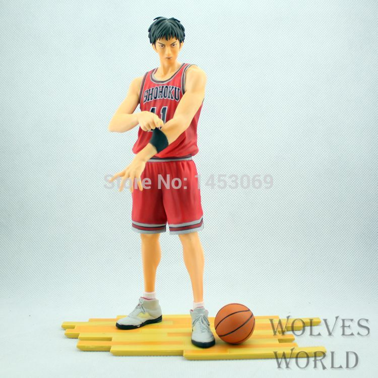 Free Shipping Slam Dunk Kaede Rukawa PVC Action Figure Model Collection Toy with retail box greenell керри 3 v3 есть коричневый