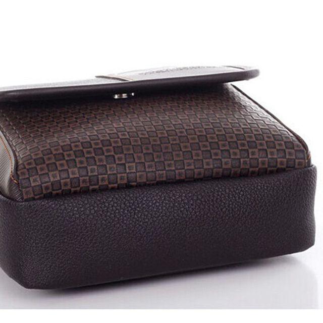 Lowest price 2017 New hot sale PU Leather Men Bag Fashion Men Messenger Bag small Business crossbody shoulder Bags   A40-293