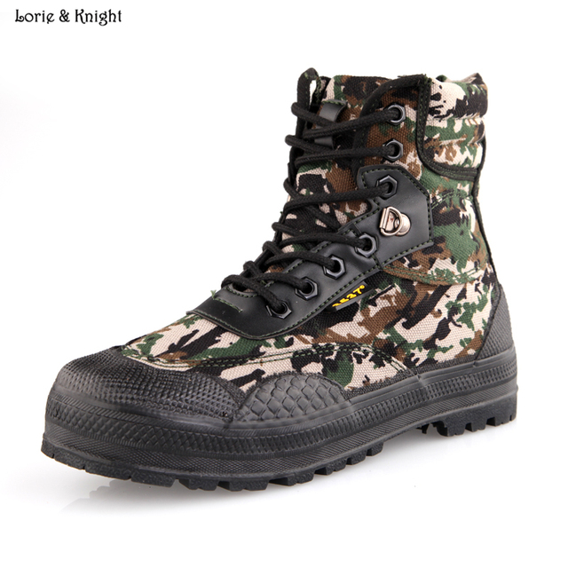 Men's Summer Breathable Military Tactical Boots Desert/Camouflage Jungle Outdoor Army Boots Hunting Boot
