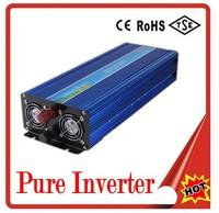 pure sine wave 2000W 4000W peak 24v to 110v 60hz digital display Power Inverter