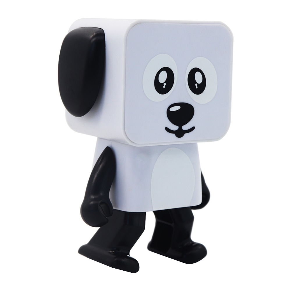 Cute Portable Smart Dancing Robot Wireless Bluetooth Speaker Dancing Robot Music Dog