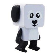 Милый портативный умный танцующий робот беспроводной Bluetooth динамик танцующий робот Музыка Собака