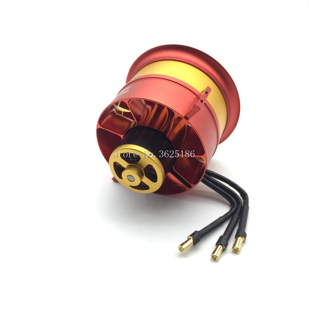 1 zestaw efr w całości z metalu wentylator kanałowy JP 90mm z trzy możliwości silnik 4250 KV1750 6S KV1330 8S 10S KV1050 12S silnika do silników odrzutowych RC w Części i akcesoria od Zabawki i hobby na  Grupa 3