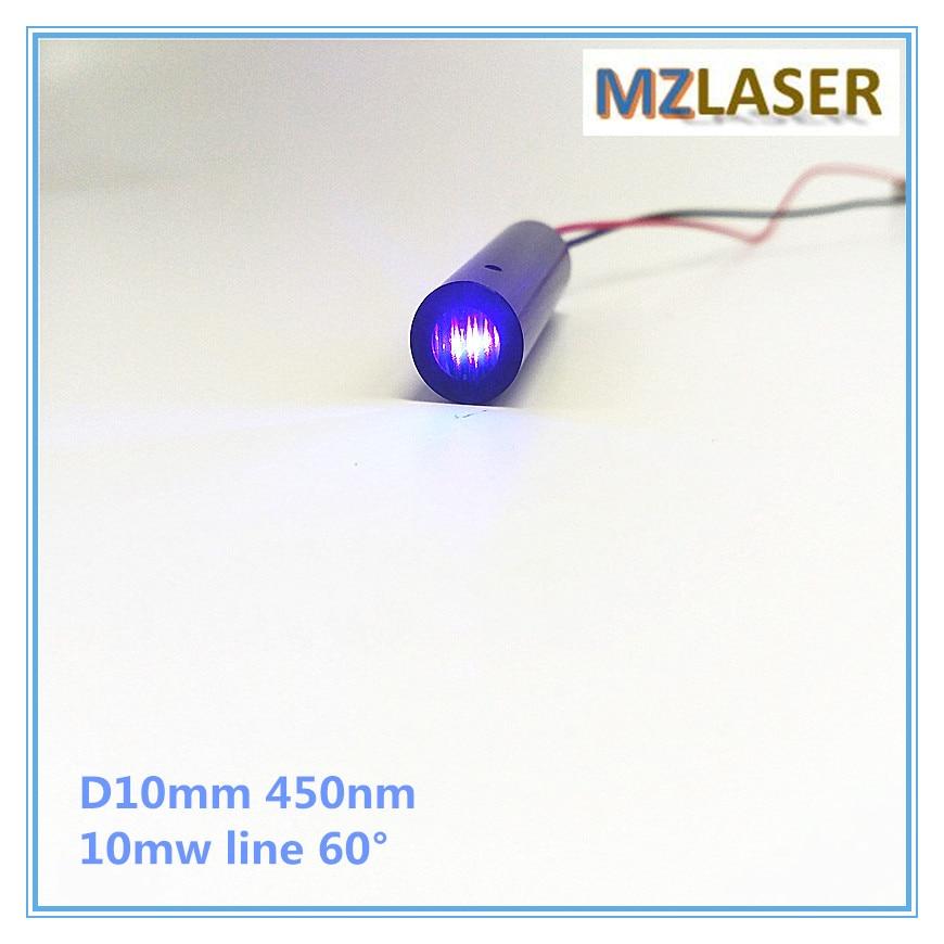 High End 10mW 450nm Blue Line 60 degree Laser Module Industrial areas 10mm часы high end world