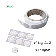 Ntag213 10 pcs NFC TAG Etiqueta 13.56 MHz Etiquetas RFID NTAG 213 Universal Chave Token Tags Patrulha NXP MIFARE Ultralight 50pcs lot fully compatible nfc tag sticker high capacity ntag 216 nfc sticker universal lable tag for all nfc enabled phones