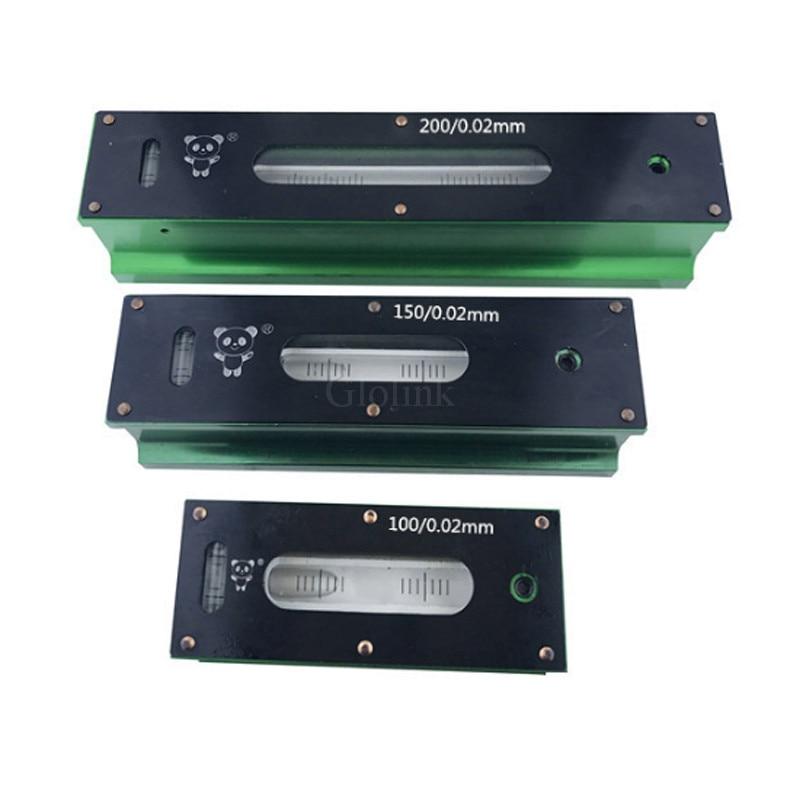 High Quality 0.02mm 100/150/200/250/300mm High precision Mechanical Bar Level Instrument Measuring Tool цена