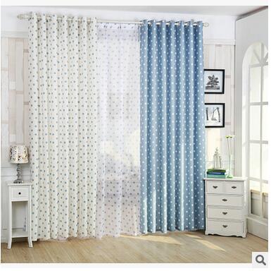 Pastoralen Stil Elegante Vorhänge Stoff für Wohnzimmer/Schlafzimmer ...
