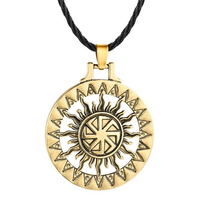 Collier soleil Viking 2