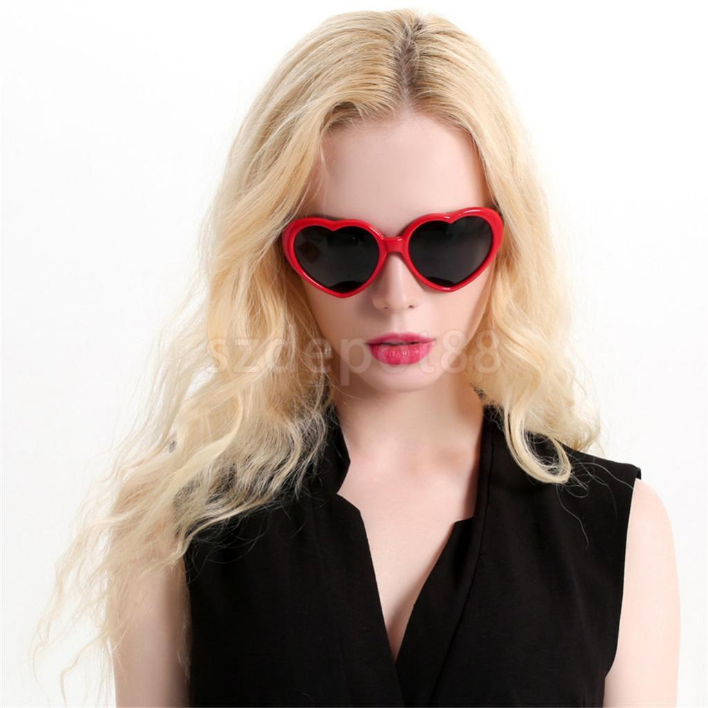Funny Red Heart Sunglasses Novelty Party Eye Glasses Fancy Dress Photo Props