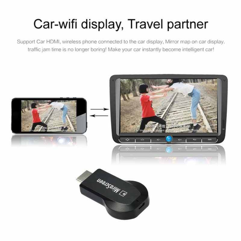 128 MB HDMI TV Stick Dongle Mirascreen Wi-Fi Máy Thu Hình Hiển Thị DLNA  Airplay Miracast Airmirroring Chromecast cho Windows 10
