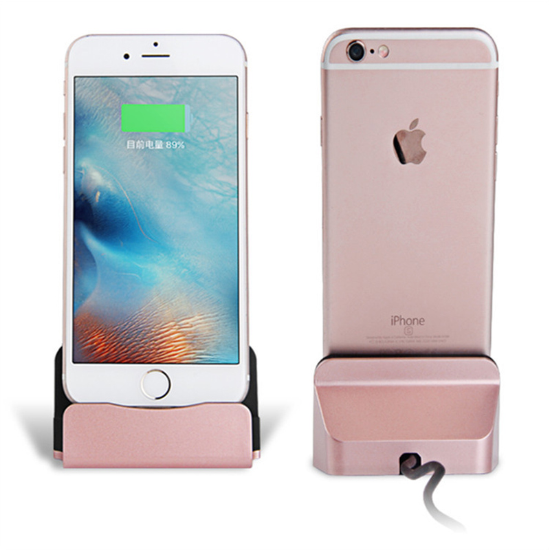 Micro USB Charging Base Dock Station For IPhone X 8 7 6 Sync Cradle Charger Base For Android Type C Samsung Xiaomi Stand Holder