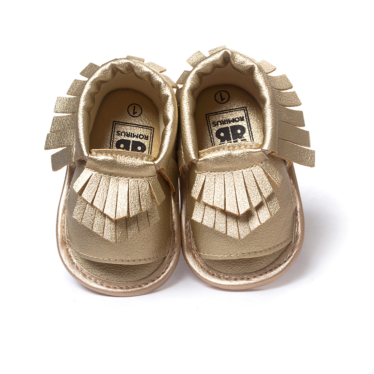 Summer Style 2018 New Designer Baby Moccasins For Newborn Boy Girl Fashion Fringe Boots Rubber Sole Unisex Leather Baby Shoes