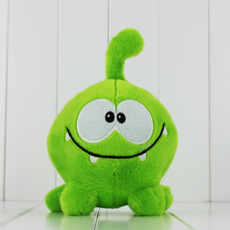 20cm cut the rope my Om Nom cartoon cut the rope stuffed and soft animal toys Plush toys free shiiping ледянка 92см cut the rope 1toy