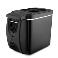6L Mini Car Warming Refrigerator Heat Fridge 12V Auto Freezer Portable Multi Function Anti Rotten Keep Cool Warm New Hotsale