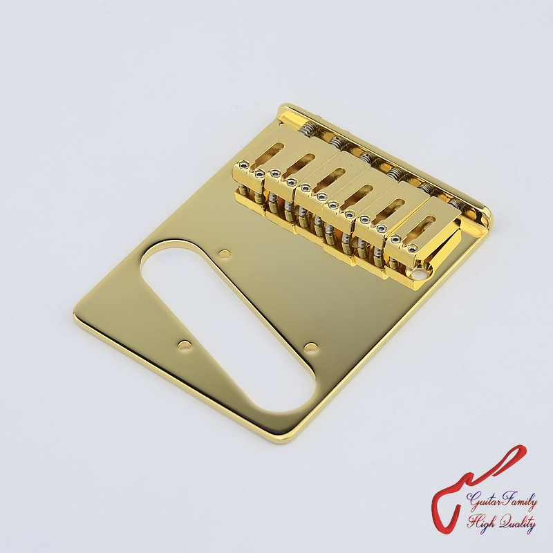 Genuine Original GOTOH GTC202 Electric Guitar Fixed Bridge With Steel Saddle Gold MADE IN JAPAN цена