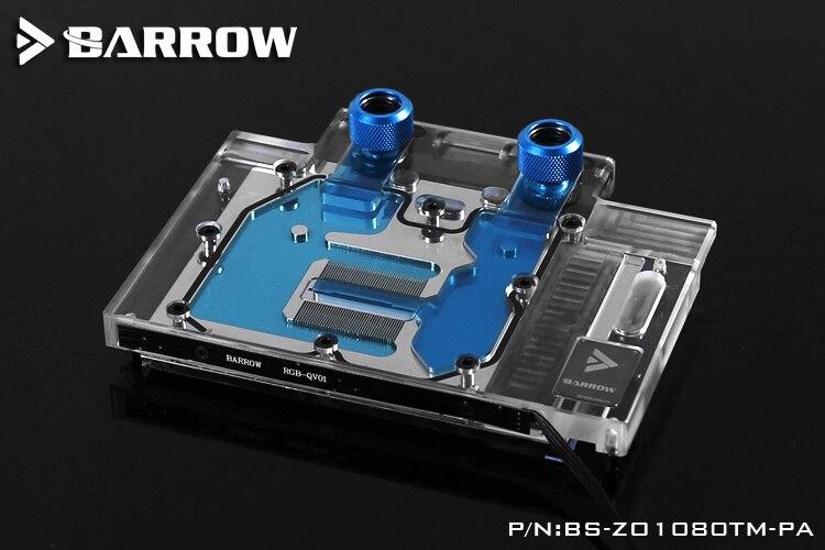 Барроу БС-ZO1080TM-ПА мини-блок водяного охлаждения для Asus GTX в 1080Ti мини