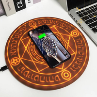 Q1 Fast Charger Wireless Charging Pad Quick charger 10w For iPhone 7 8 6 S Plus X For Samsung S8 S9 Magic Array Wireless Charger