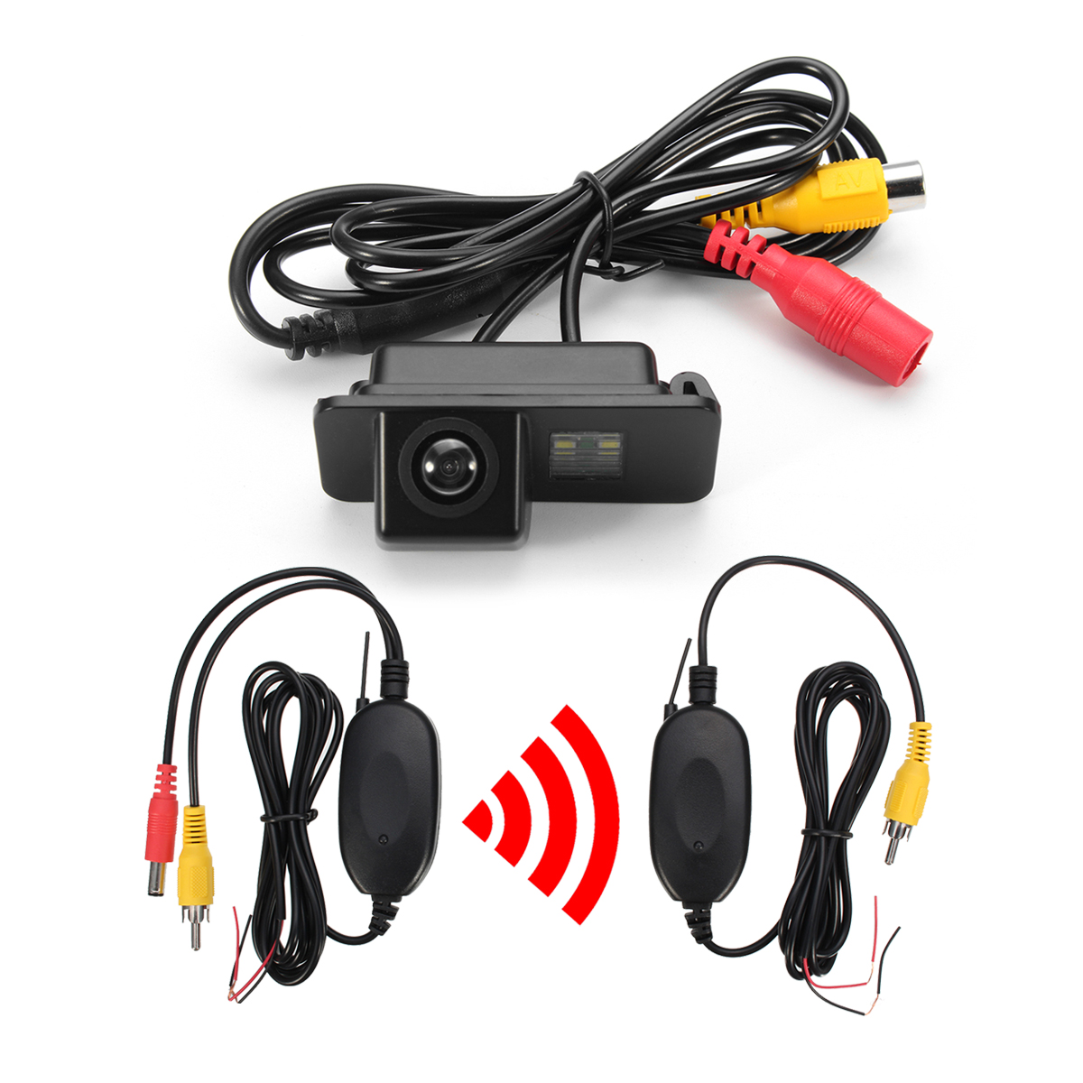 Wireless Car CCD Reverse Rear View Parking Camera For Ford Mondeo Fiesta For Focus S-Max Kug