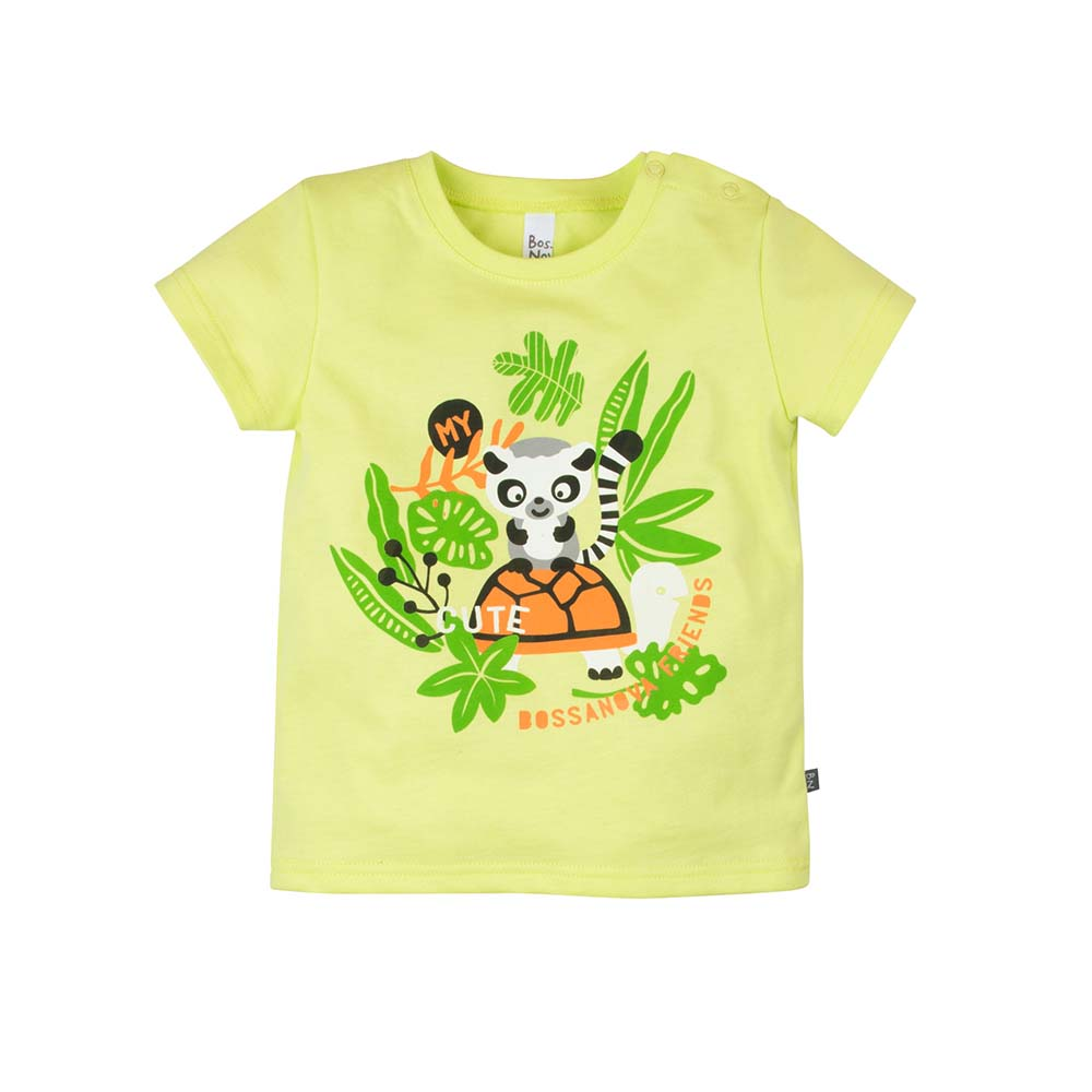 T-Shirts BOSSA NOVA for boys 259b-161s Kids Top T shirt Baby clothing Tops Children clothes muqgew toddler kids baby girl lolly t shirt tops floral shorts pants outfit clothes set unicorn pajamas for girls top ropa mujer