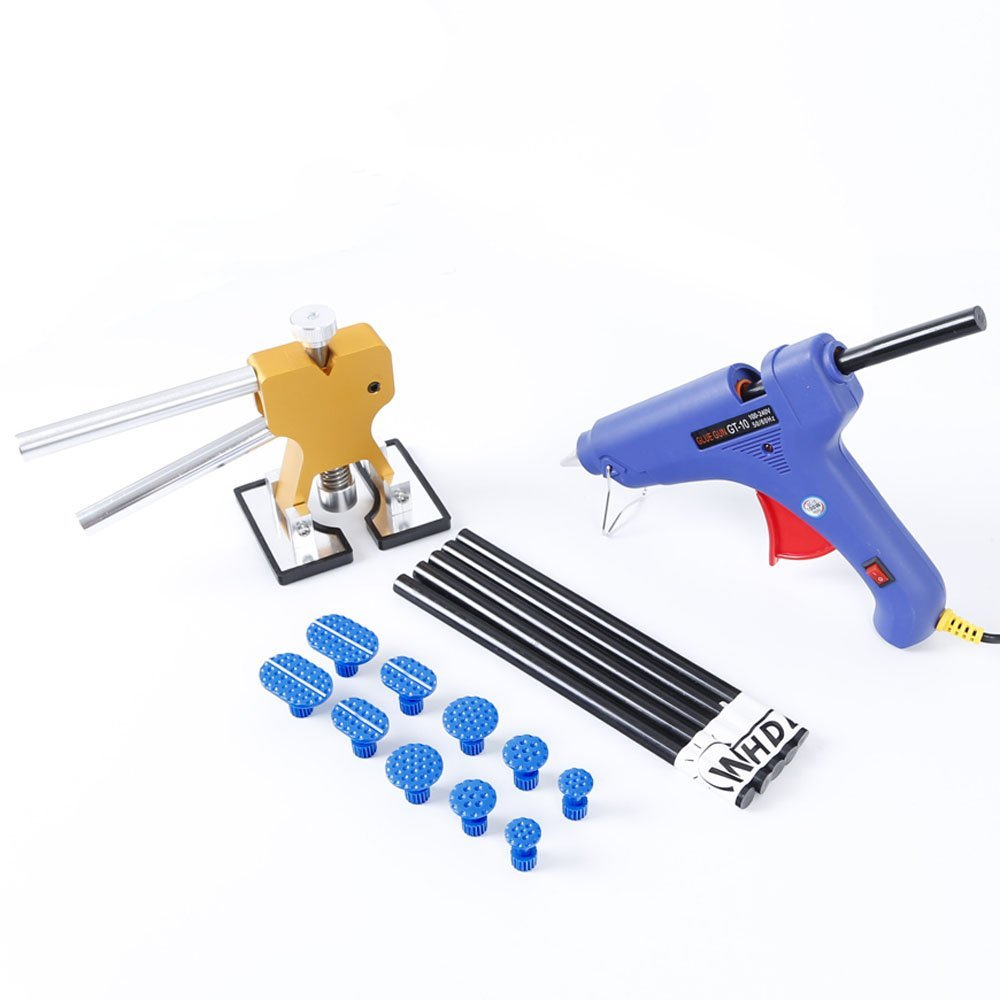 Glue Puller Hand Lifter PDR Tool Kit with Glue Gun & PDR Puller Glue Tabs Auto Body Dent Removal Tool pdr tool pdr brace tool b4