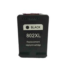 vilaxh 1pcs black remanufactured ink cartridge For HP802 for HP 1000 1050 2000 2050 printer CH561Z