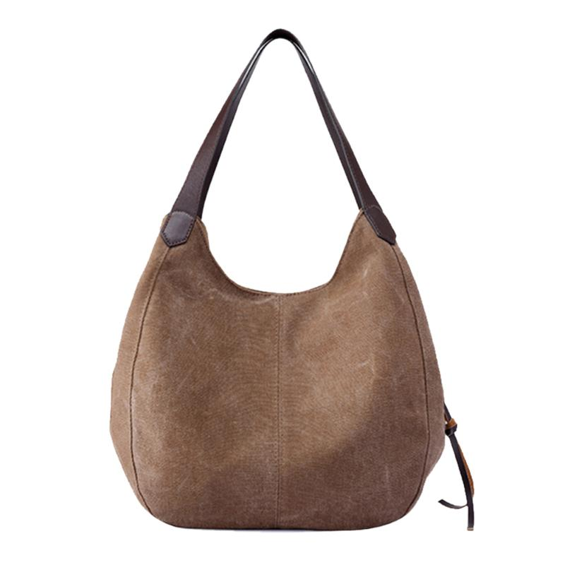 f676ca5112 Vintage Women Canvas Handbags Ladies Casual Totes Hobos Sling Shoulder Bags  Features  The fashion version of the type concise but not simple