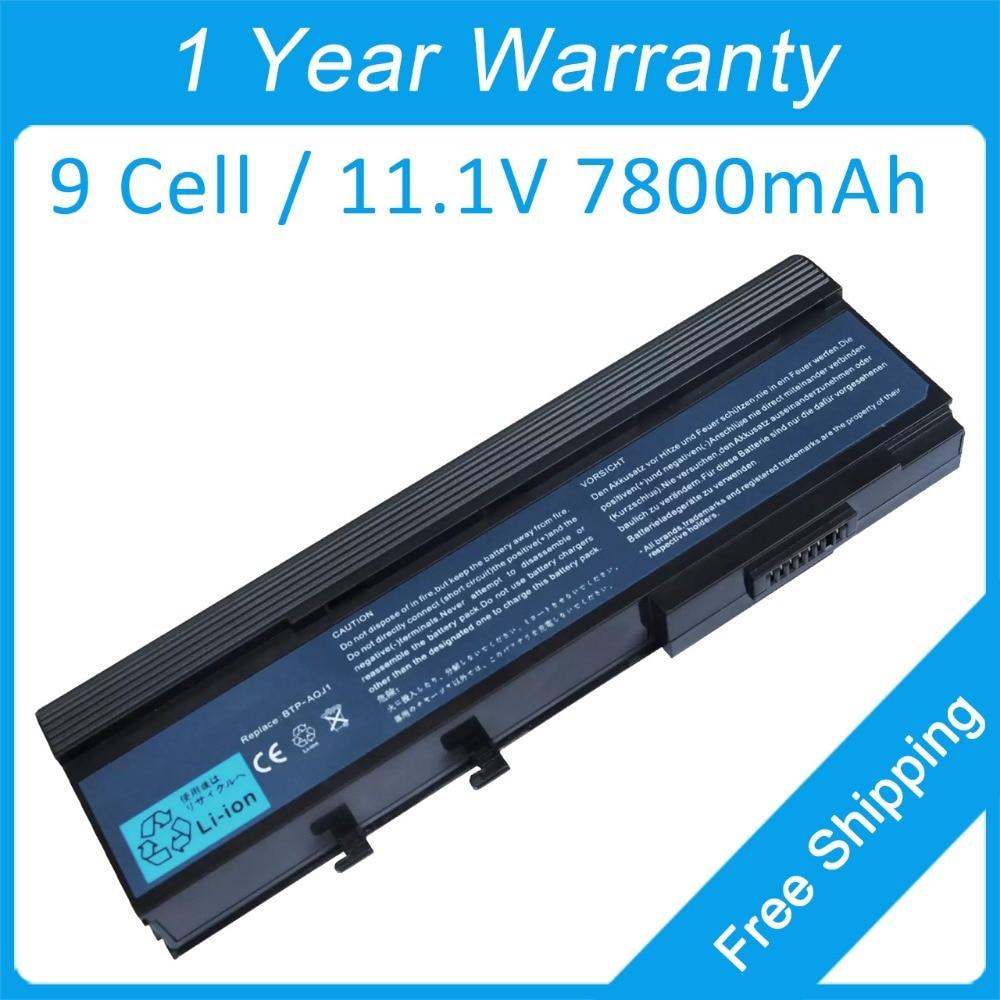 9-cel laptopbatterij voor Acer TravelMate 4320 6292 4330 6293 6492 - Notebook accessoires