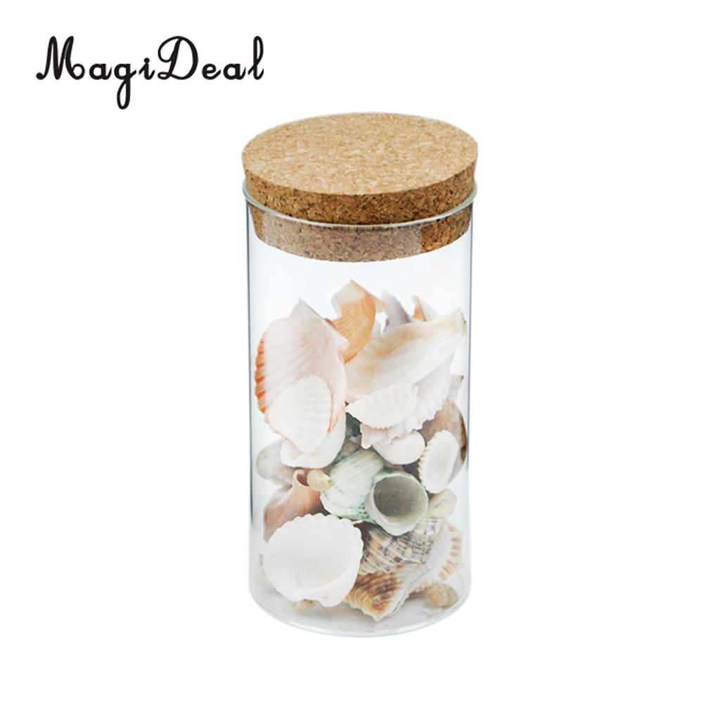 clear kitchen canisters promotion shop for promotional clear magideal clear glass canister snack sugar treat tea storage jar with cork kitchen home decor