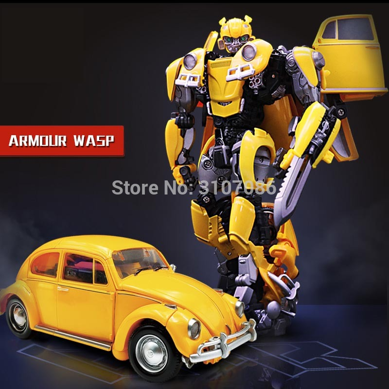 BMB Transformation LS 07 LS07 Bee MPM07 MPM 07 Alloy Metal Movie Film voyager Edition Action Figure Robot Toys-in Action & Toy Figures from Toys & Hobbies    1