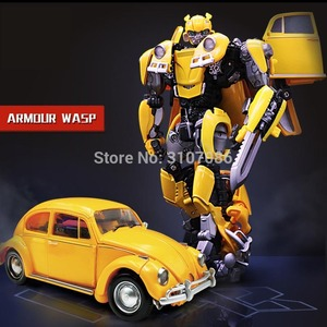 BMB Transformation LS-07 LS07 Bee MPM07 MPM-07 Alloy Metal Movie Film voyager Edition Action Figure Robot Toys(China)