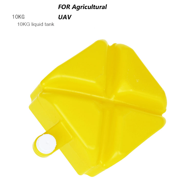 RC airplane Spray pump Agriculture drone parts farm chemical tank box 10L KG Litre for Agricultural UAV 4 pcs agriculture drone water tank aluminum alloy fixed parts