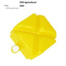 RC avião bomba de Pulverizador Agricultura fazenda peças zangão UAV KG Litros caixa 10L tanque de produtos químicos Agrícolas