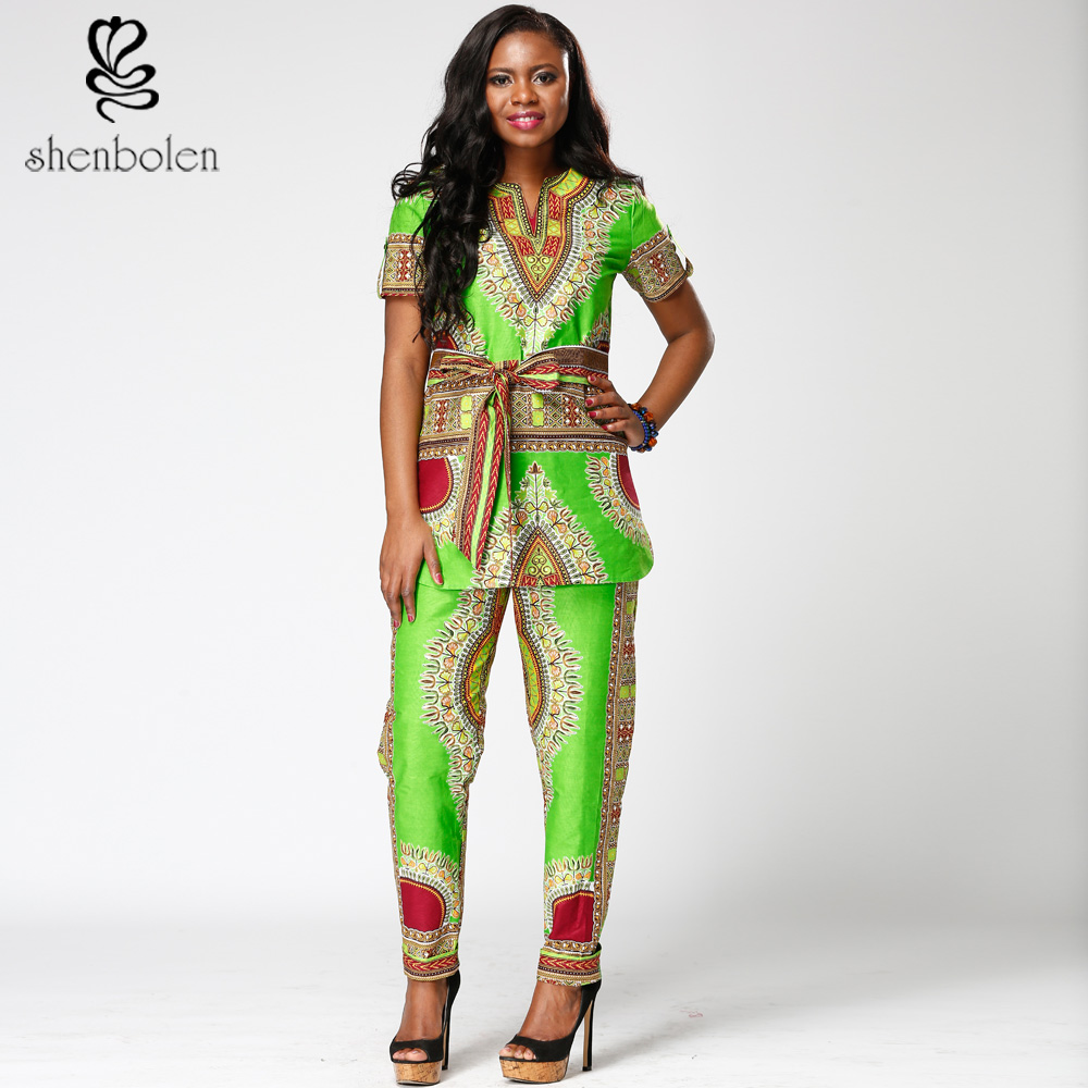 2017 African retro style women's suits, high-quality sewing retro positioning floral print fashion African style jacket + pants
