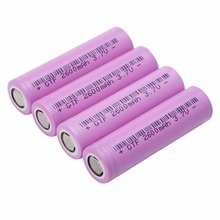 GTF 18650-26F 3.7V 2600mAh Li-ion 18650 Rechargeable battery for power bank flashlight Suitable for mobile power tools flashligh цена 2017