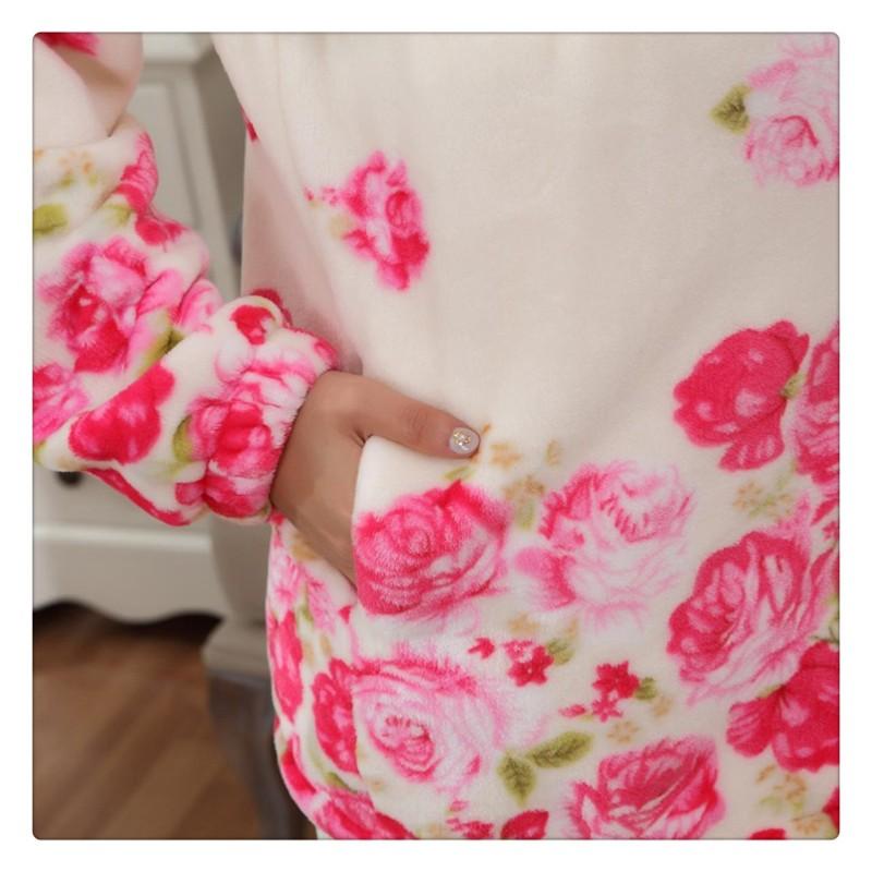 Flannel Maternity Pajamas (7)
