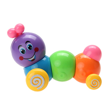 Kids Toys Colorful Caterpillar Baby Child Developmental Educational Toy Cute Spring Bug Children Toy