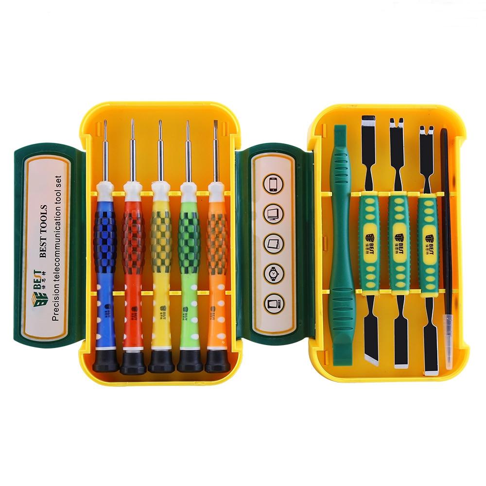 10 in 1 Precision Screwdriver Sets Tools Professional Computer Repair Tools Mobile Phone Repair for iPhone 4,4s,5s,6s