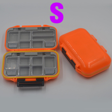 MNFT 1Pcs High Quality Plastic Fishing Tackle Box Waterproof Fly Fishing Lure Spoon Bait Fishing Boxs Double Layer Storage Case