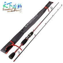 TAF 1.8m Spinning Fishing Rod UL Power Lure Weight 0.8-5g Carp 2 Section Carbon Fiber Vara De Pesca Peche
