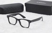 hot Square Eyeglasses Frames Clear Lens Vintage Optical Frame Prescription Glasses big Frame Spectacle Eyewear Frames Women Men