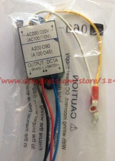 Free Shipping   Rectifier GTR Motor Brake Power Supply  A100-D45 A200-D90