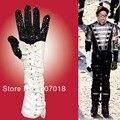 MJ Michael Jackson Clássico Black Crystal Luva Mão Direita Ambos Os Lados Feitas À Mão PRESENTE para o Natal