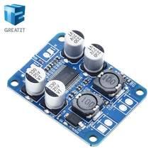 Greatzt 1 pces dc 12v-24v tpa3118 60w mono módulo amplificador de potência de áudio digital