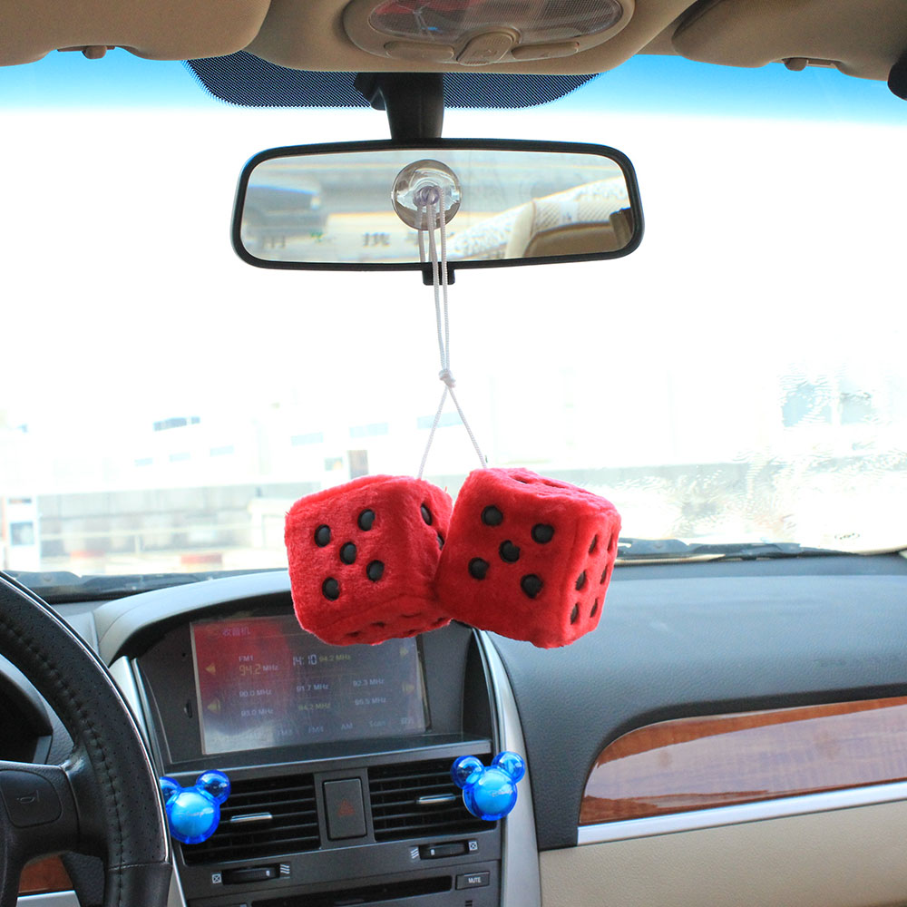 car pendant dice craps1