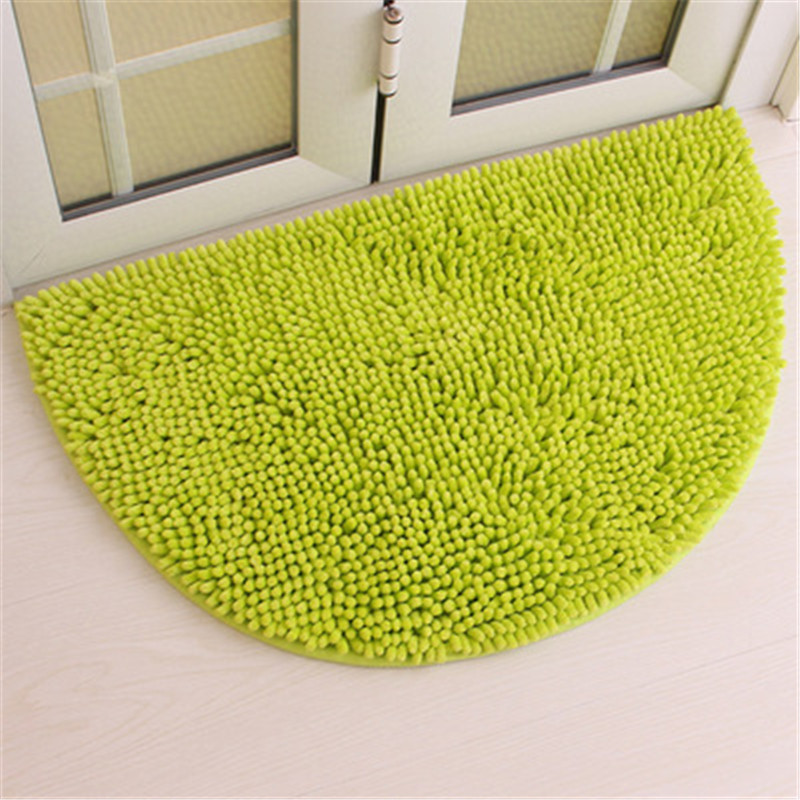 Half Round Style Door Carpet Anti Slip Proof Mats Bathroom Rugs for Living Room Bathroom Circle Mat Kitchen Rug Solid Color B19 -in Carpet from Home ...  sc 1 st  AliExpress.com & Half Round Style Door Carpet Anti Slip Proof Mats Bathroom Rugs for ...