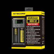 2015 new version 1PC Nitecore Battery Charger for 16340 10440 AA AAA 14500 18650 26650 Battery Charger Nitecore I2 Charger(China)
