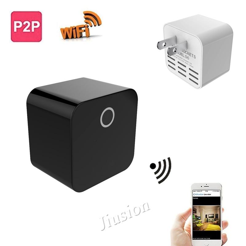 купить HD 1080P Mini Wifi IP Camera Night Vision Wireless Remote Recording Video Voice Micro Camcorder Car Sport DV по цене 2032.45 рублей